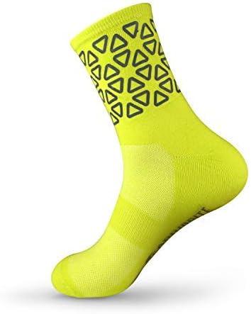 Ciclismo y Caminar Calcetines Reflectantes de Alta Visibilidad para Correr Carribrite Calcetines Deportivos