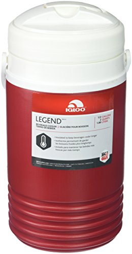 Igloo Legend Beverage Cooler (Red, 0.5-Gallon)