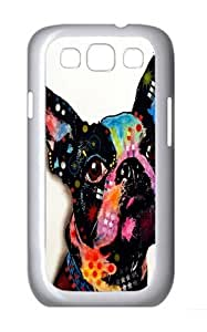 Samsung Galaxy I9300 Case and Cover -BostOn Terrier 6PC Case Cover for Samsung Galaxy S3 and Samsung Galaxy I9300 White