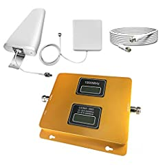 Notes Before Purchasing 1. This cell phone signal booster can only booster signal. That means it can't create a signal. 2. This is the 700Mhz/1900Mhz(B2/B12/B17) dual band signal booster, please make sure the frequency which is working for yo...