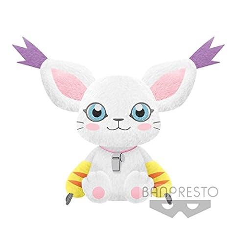 Banpresto- I heart Tailmon Digimon Adventures Large Plush Doll- Terriermon- 12
