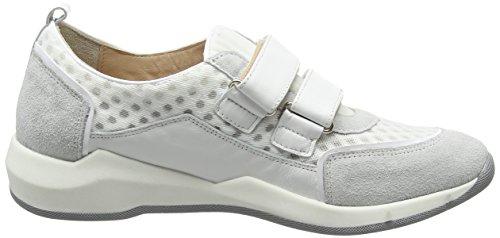 Lea bianco Bianco Femme bianco Baskets bianco Weiß bianco Blanc Basses Foscati Mentone qwxqrHp7a