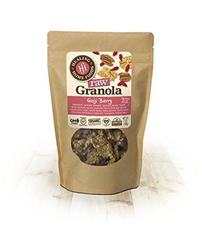 Raw Goji Berry Granola (Maple Granola Recipe)