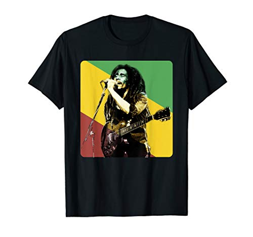 Marley Revolution and Freedom for Bob Lover T-Shirt Bob Marley Women T-shirt