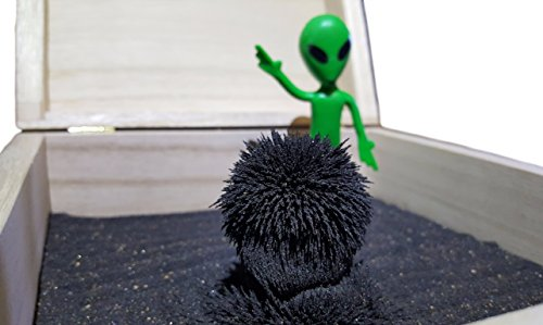 Alien MagZen - Unique Magnetic Alien Zen Garden Zen Box, Tabletop/Desktop Zen Garden Kit for Relaxation, Stress Relief, Creativity and Magnetic Science (Alien Version) (Alien) by MagZen (Image #1)