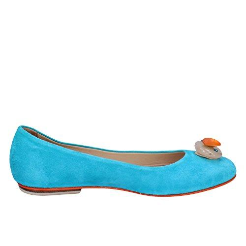 DANIELE Bailarinas Gamuza AX896 EDDY Mujer 37 Zapatos 1SU4x4