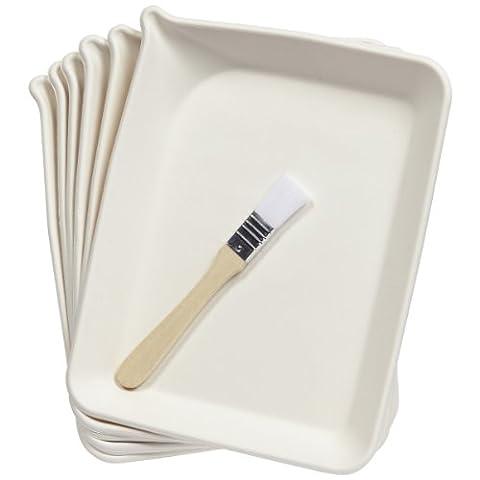 Martha Stewart Crafts Glittering Trays And Brush