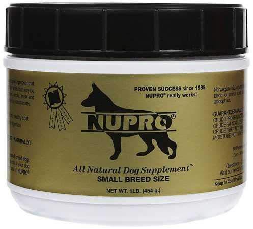 Nupro All Natural Dog Supplement (1 lb)