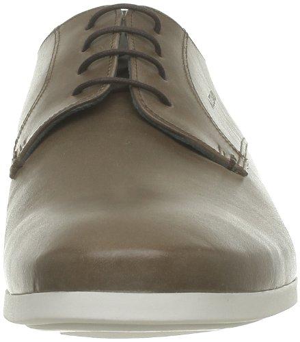 Azzaro - Zapatos de cuero para hombre Marrón