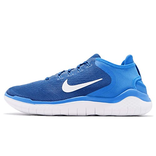 Nike Men's Free RN 2018, Team Royal/White/Photo Blue, 13 M -