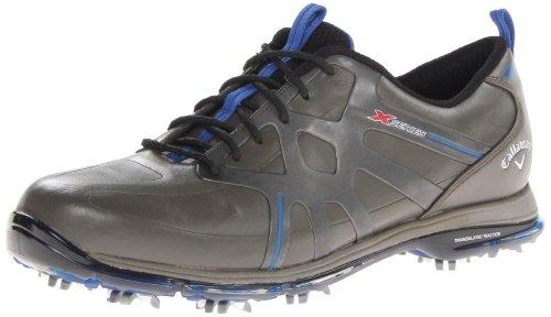Callaway Footwear Men's X Cage Pro Golf Shoe,Grey/Black,9 M