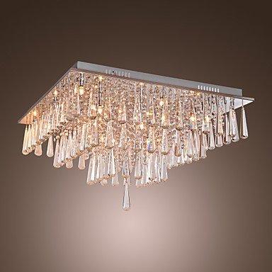 DXZMBDM® POUGHKEEPSIE - Lüster aus Kristall mit 16 Glühbirnen , 220-240V