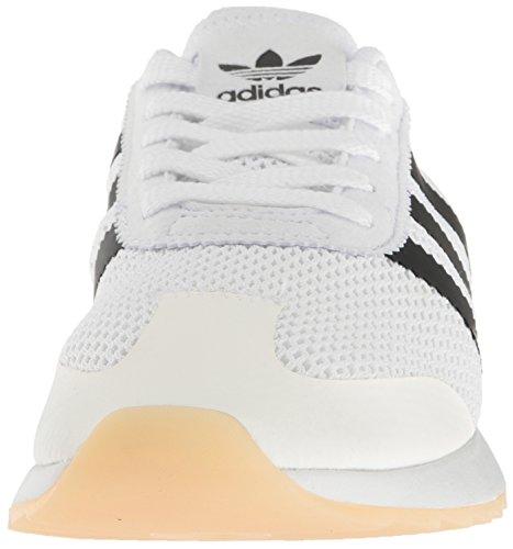 Adidas Originals Women's Flashback Fashion Sneakers, White/Black/White, (8 M US)