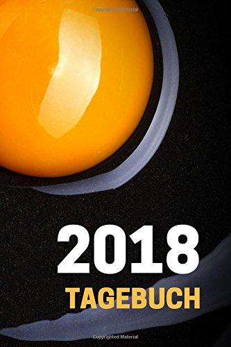 Read Online 2018 Tagebuch: schwarz orange, 1 Seite pro Tag, datiert und leicht liniert, Kalender, Planer, Journal, Design Cover (German Edition) pdf epub