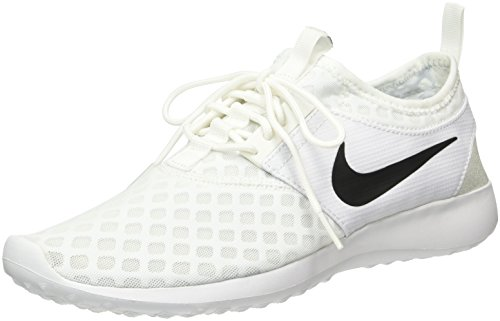 NIKE Women's Juvenate Sneaker, White/Black, 11 B US by NIKE