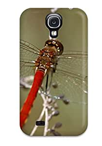 Shock-dirt Proof Red Dragonfly Case Cover For Galaxy S4