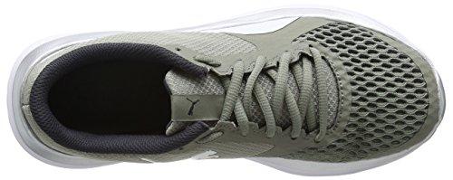 Flex Sneaker Grau White Erwachsene silver Rock Puma T1 Unisex Ridge Reveal puma awExq1X