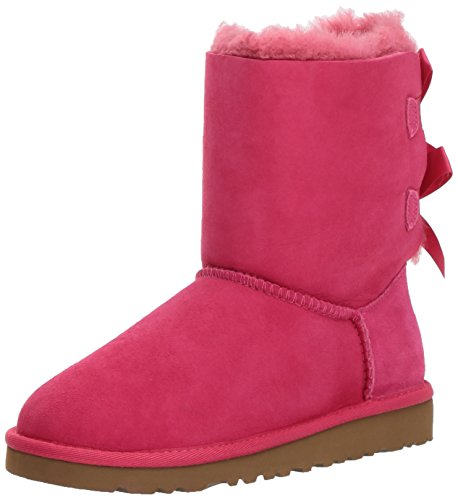 UGG Kids Girl's Bailey Bow (Little Kid/Big Kid) Cerise 2 Little Kid M by UGG