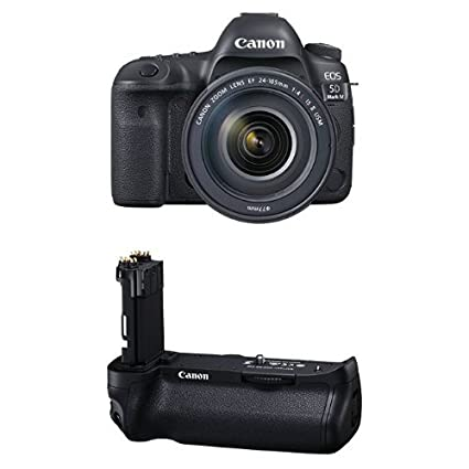 Amazon.com : Canon EOS 5D Mark IV Full Frame Digital SLR Camera with ...