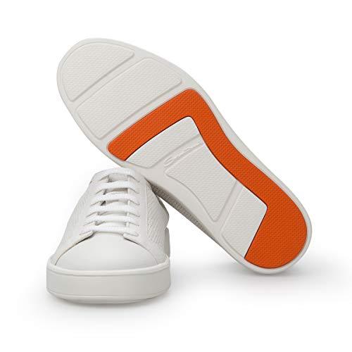 Bianca Santoni Pelle Forata In Sneakers OwtRa