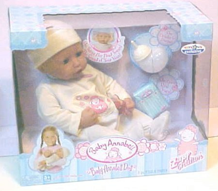 ZAPF INTERACTIVE BABY ANNABELL DOLL