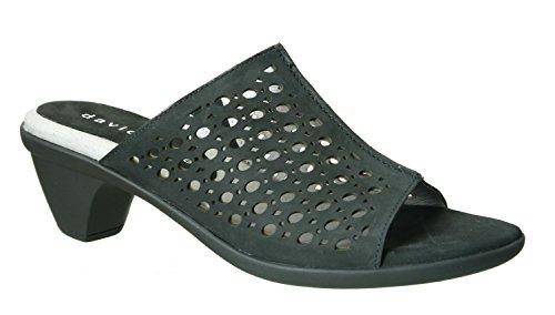 David Tate Women's Virginia Black Sandal 6.5 M (B)