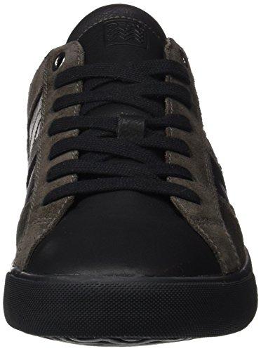 Geox U Smart D, Zapatillas para Hombre Schwarz (BLACK/DK GREYC0005)