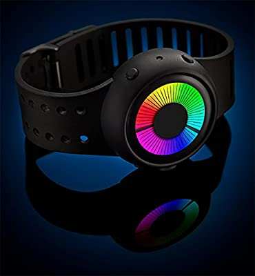 ThinkGeek Chromatic LED Watch - 6 Different Built-In Animation Modes to Choose From