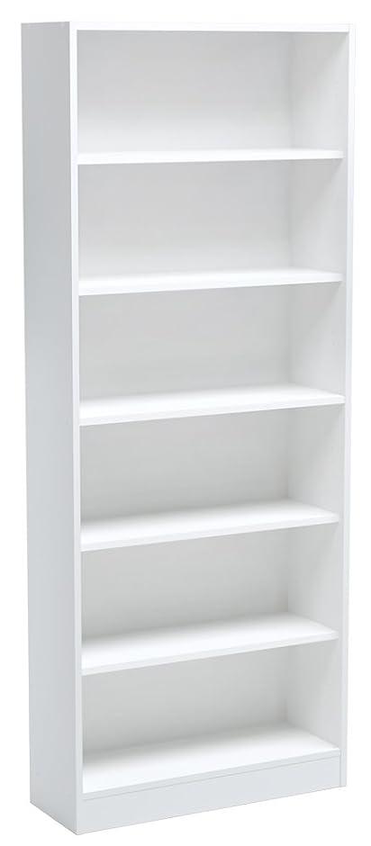 Bücherregal weiß  INFINIKIT Haven Bücherregal, breit - Weiß: Amazon.de: Küche & Haushalt