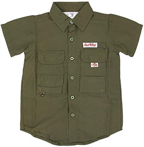 BullRed - Camisa de pesca con ventilación para niños (8 colores disponibles) - Verde - 3 años: Amazon.es: Ropa y accesorios