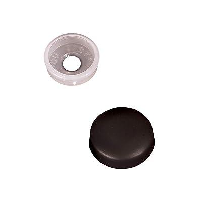 RV Designer H603, Screw Covers, Black, 14 Per Pack, Interior Hardware: Automotive