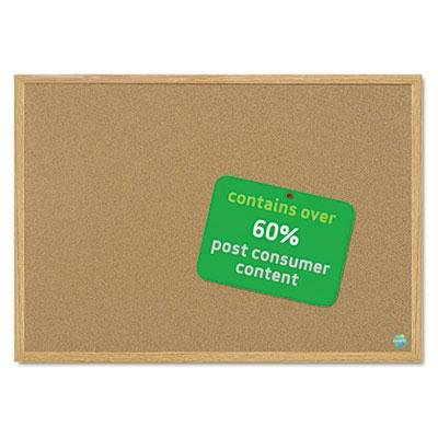 MasterVision - MasterVision - MasterVision Earth Cork Board, 48 x 72, Wood Frame by MasterVision