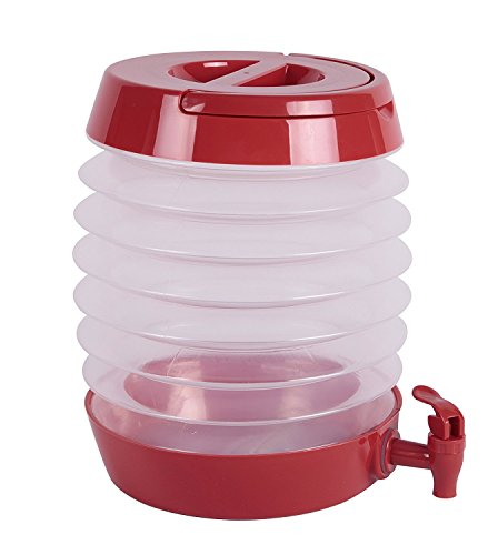 J Miles UH-CB214 255 Ounces 7.5 Liters Collapsible Beverage Dispenser (7.5) by J Miles Co.