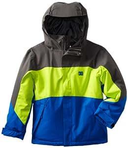 DC Boy's Amo K 13 Jacket, Dark Shadow, Large