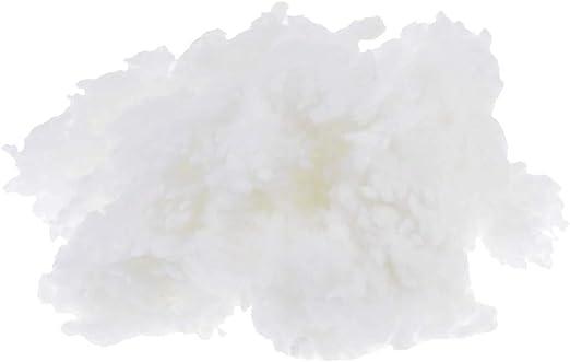 100 g relleno sintético de poliéster de algodón guata para cojines – 100 g: Amazon.es: Hogar