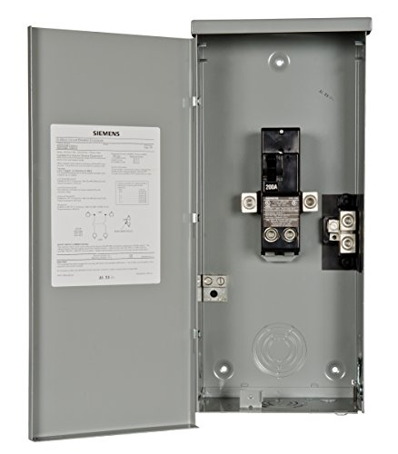 Siemens W0202MB1200CU 200 Amp Outdoor Circuit Breaker Enclosure