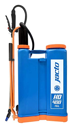 Jacto HD400, 4 Gallon No Leak Backpack Sprayer with Heavy Duty Pump, For Lawns and Gardens - Color, - No Sprayer