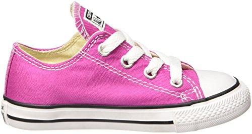 Taylor ALL Chuck Zapatos en Tela Roja Pink Kids KIDS 7J236C STAR Converse CLASSIC ZEIpxqE5