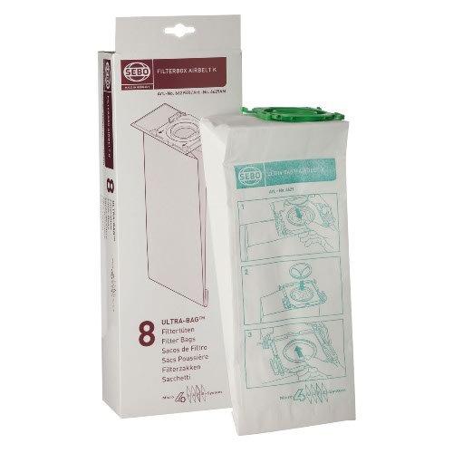 SEBO 6629AM Vacuum Filter Bag Box for K Series, 8-Pack