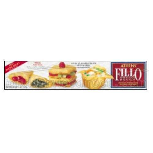 Athens Foods Fillo Dough Sheet, 16 Ounce -- 24 per case. by Athens Foods