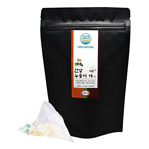 Give me more Rice Mom Oriental Nurungji Tea with Medicinal Herbs, Teabag Box(Pack of 3), 35g(3.5g X 10ea) X - Downton Boston