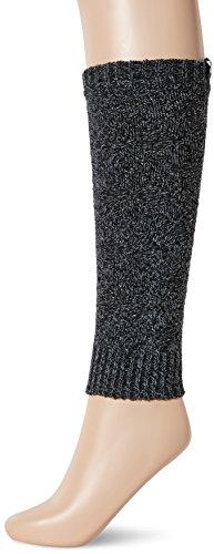 Kold Feet Women's Merino Wool Blended Leg Warmers Medium  Black