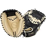 Under Armour UA Geniune PRO 34IN BLK/CRM BB Catchers MITT 17H Throws Right