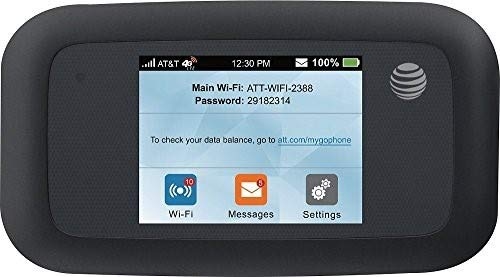 ZTE Velocity 4G LTE Mobile WiFi Hotspot GSM Unlocked AT&T - Black