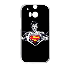 HUAH Superman Clark Kent Cell Phone Case for HTC One M8