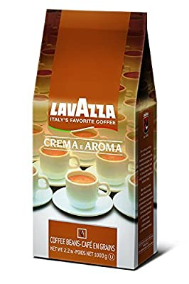 Lavazza Whole Bean Coffee, Crema e Aroma, 2.2-Pound Bag (Pack of 3)