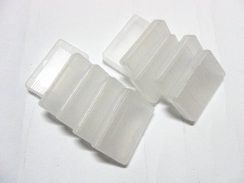 HOODDEAL 10PCS Plastic cartridge cases for GBA GBA SP GBM Gameboy Advance