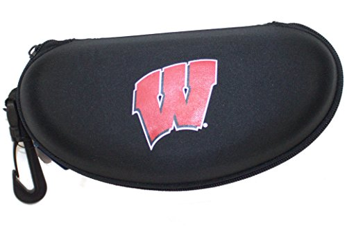 California Accessories Wisconsin Badgers Semi Hard Zip Up Sunglass Case by California Accessories