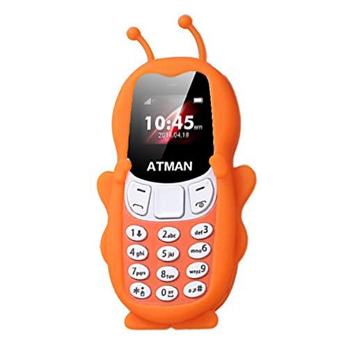 HGJVBFGH1 V5 Mini teléfono móvil Personalidad Tarjeta de ...