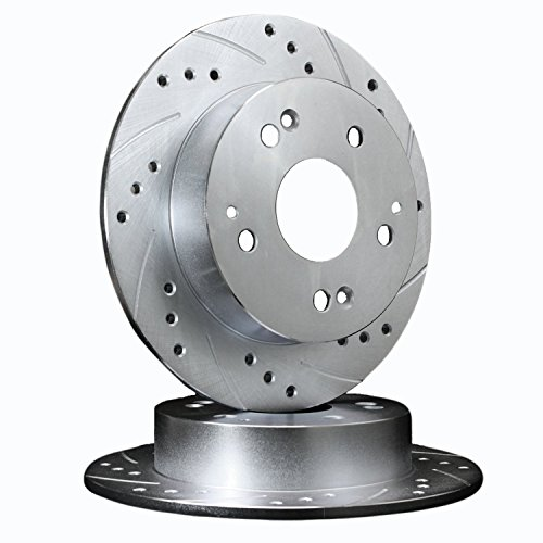 Fits 2005 Pontiac Grand Prix [3.8L - GTP - Supercharged ] REAR PAIR ATL Autosports Performance Brake Rotors ATL55085-13DS